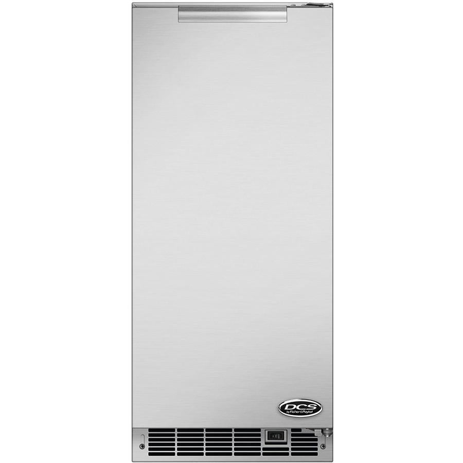 "DCS 15"" Built-In Stainless Steel Outdoor Ice Maker"