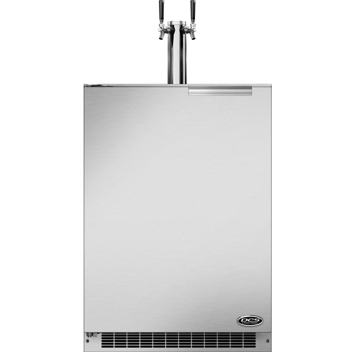 "DCS 24"" Double Tap Beer Dispenser/Kegerator, Left Hinge"