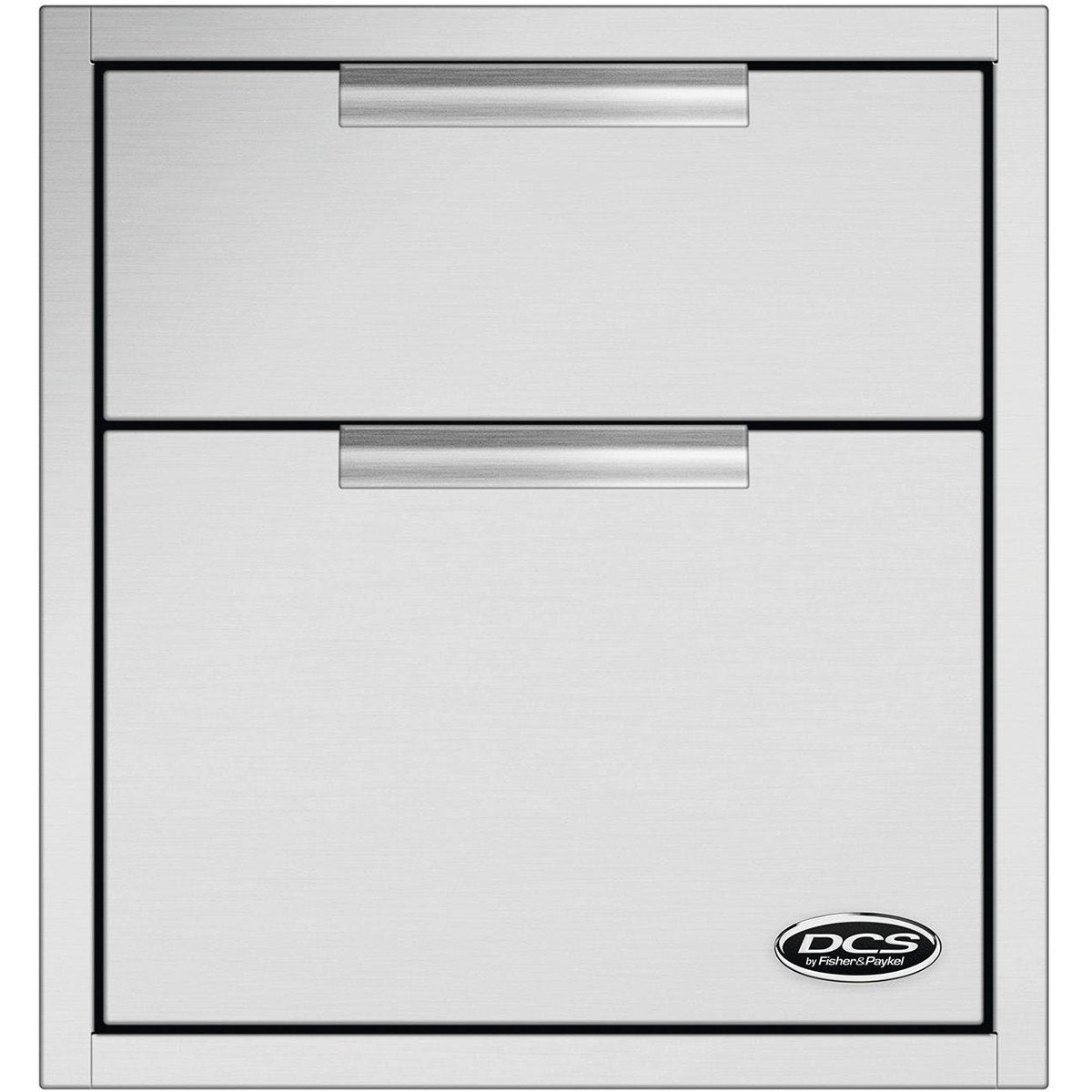 DCS 20-Inch Tower Double Drawer w/ Soft Close