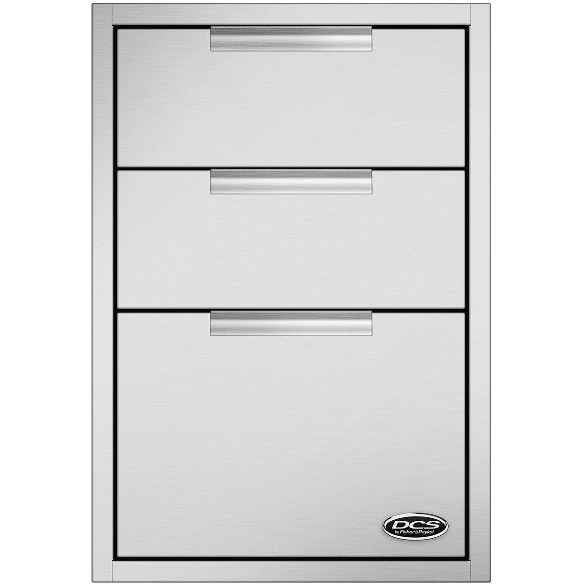 DCS 20-Inch Tower Triple Drawer w/ Soft Close