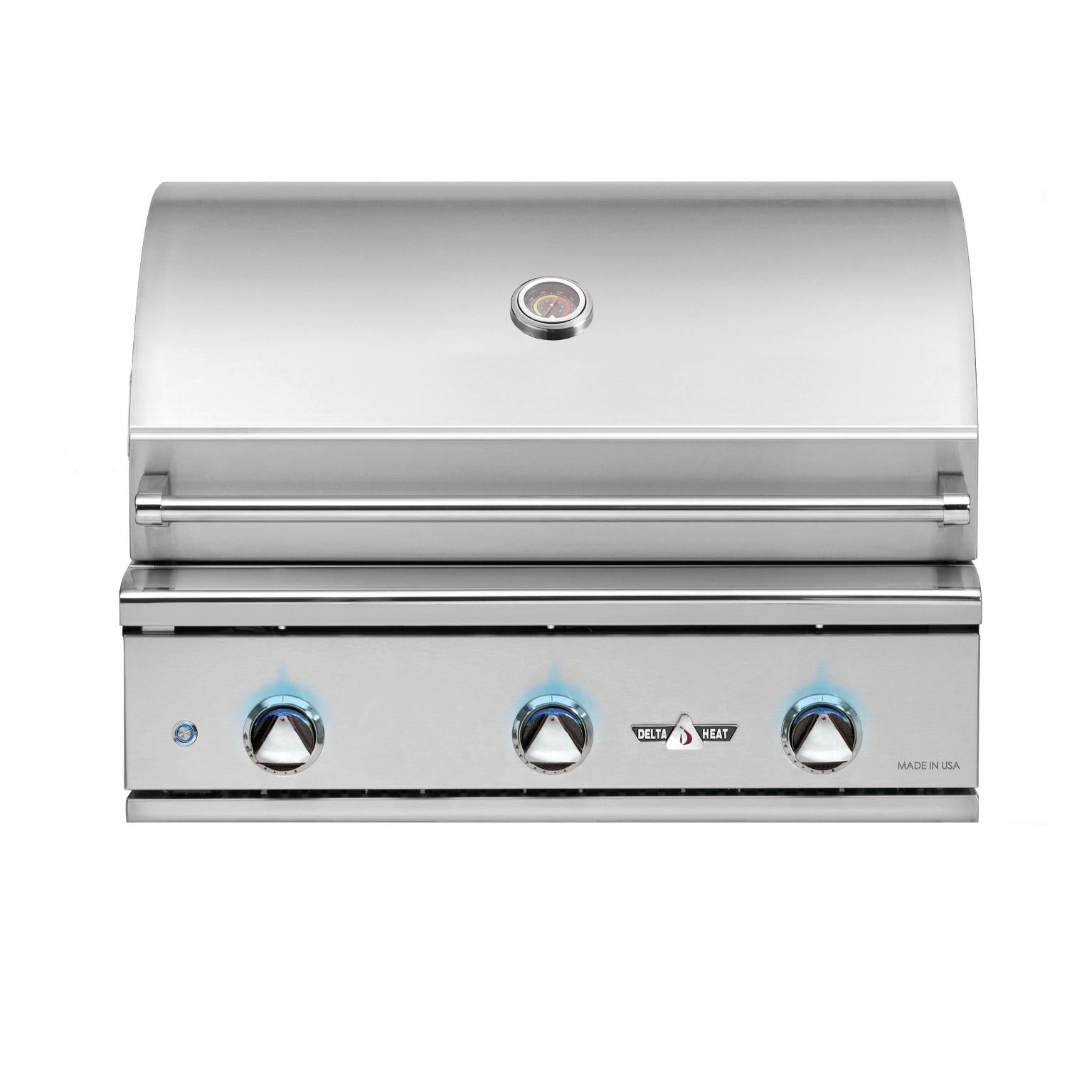 "32"" Delta Heat Gas Grill, Natural Gas"