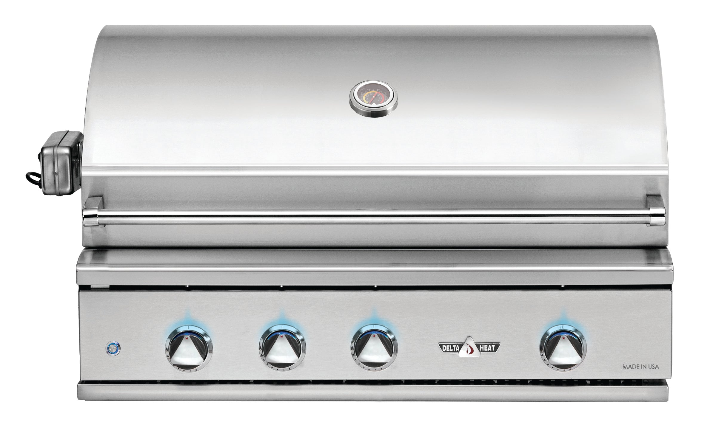 "38"" Delta Heat Gas Grill w/ Infrared Rotisserie, Natural Gas"
