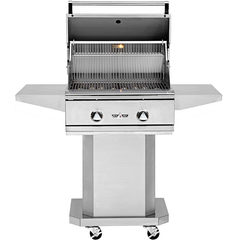 "26"" Delta Heat Freestanding Gas Grill on Cart, Natural Gas"