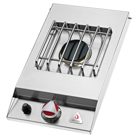 Delta Heat Drop-In Single Side Burner, Liquid Propane