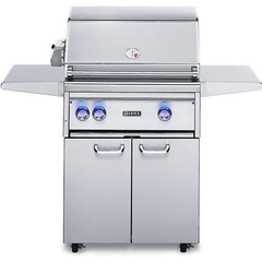 "Lynx 27"" Freestanding Gas Grill w/ Rotisserie and Infrared ProSear Burner on Cart, Liquid Propane"