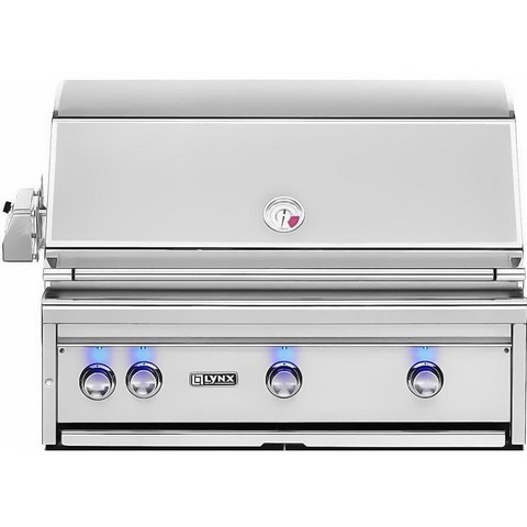 "Lynx 36"" Built-In Gas Grill w/ Rotisserie and 1 Infrared ProSear Burner, Natural Gas"