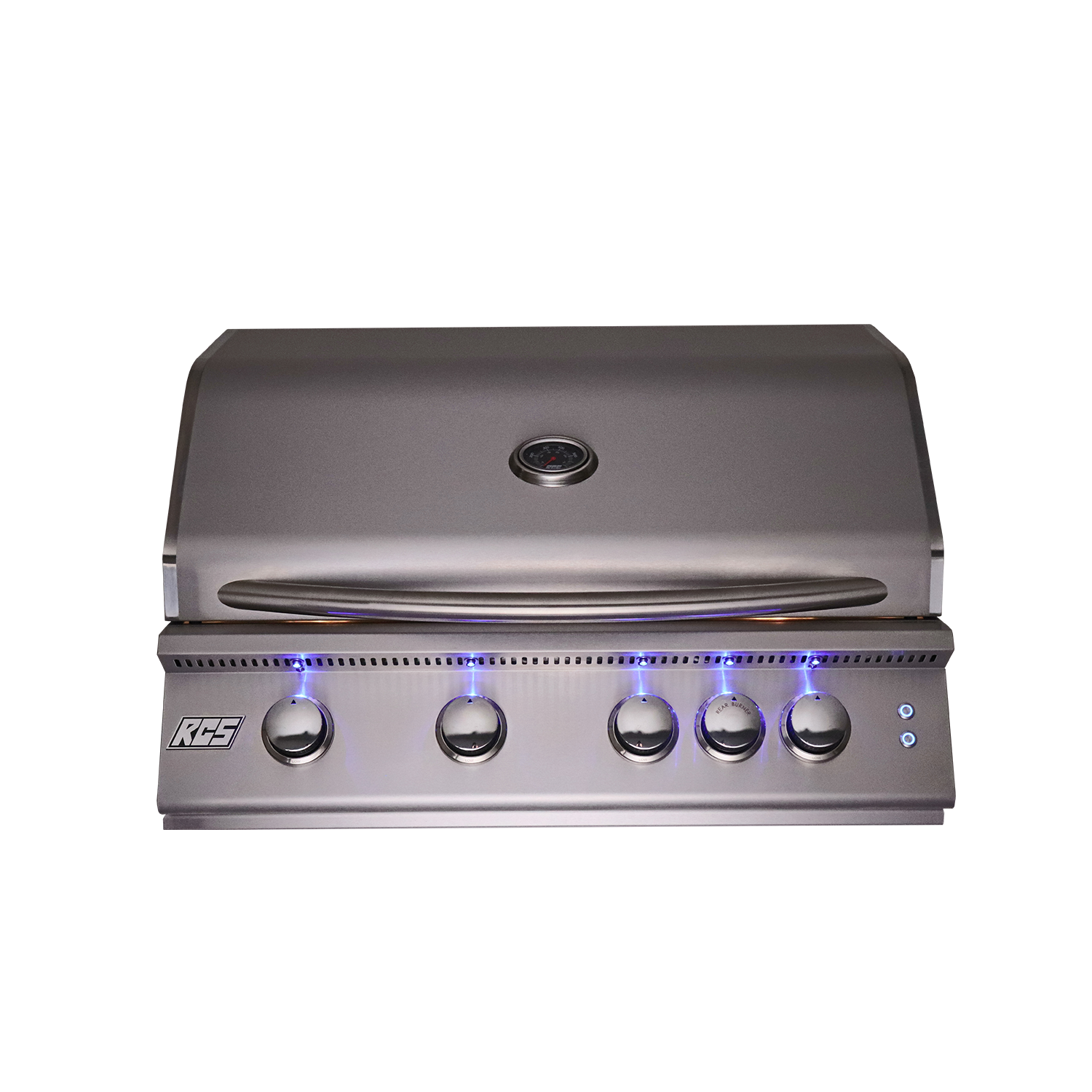 "RCS 32"" Premier Drop-In Grill w/ LED Lights-NG"