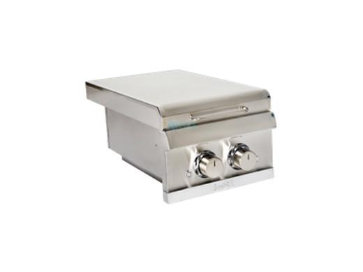 Saber Elite SSE Dual Burner Built-In Side Burner, Natural Gas