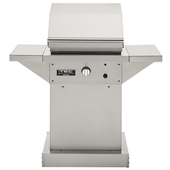 "TEC 26"" Patio FR Freestanding Infrared Gas Grill on Stainless Pedestal, Natural Gas"