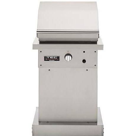 "TEC 26"" Patio FR Freestanding Infrared Gas Grill on Stainless Pedestal, Liquid Propane"