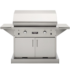 "TEC 44"" Patio FR Freestanding Infrared Gas Grill on Stainless Cabinet, Natural Gas"