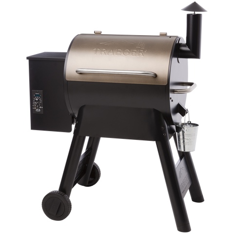 Traeger Pro Series 22 Pellet Grill on Cart, Bronze