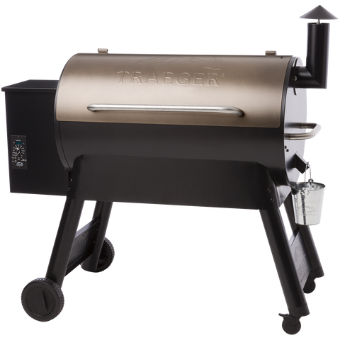 Traeger Pro Series 34 Pellet Grill on Cart, Bronze