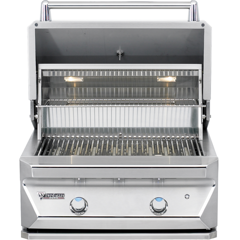 "30"" Twin Eagles Built-In Gas Grill w/ Infrared Rotisserie & Sear Zone, Natural Gas"