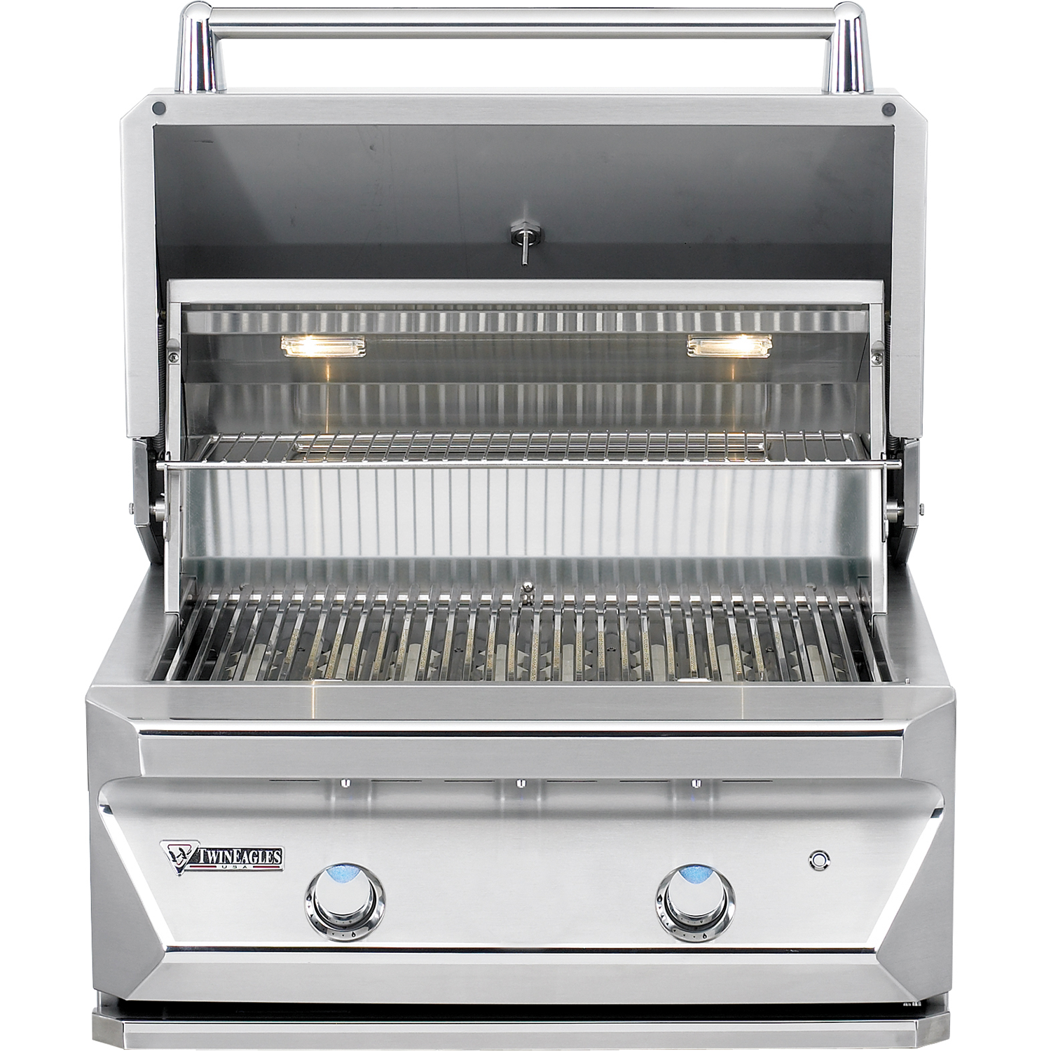 "30"" Twin Eagles Built-In Gas Grill w/ Infrared Rotisserie, Liquid Propane"