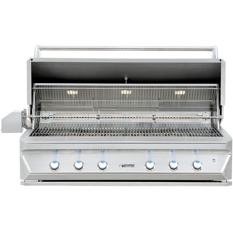 "54"" Twin Eagles Built-In Gas Grill w/ Infrared Rotisserie & Sear Zone, Liquid Propane"