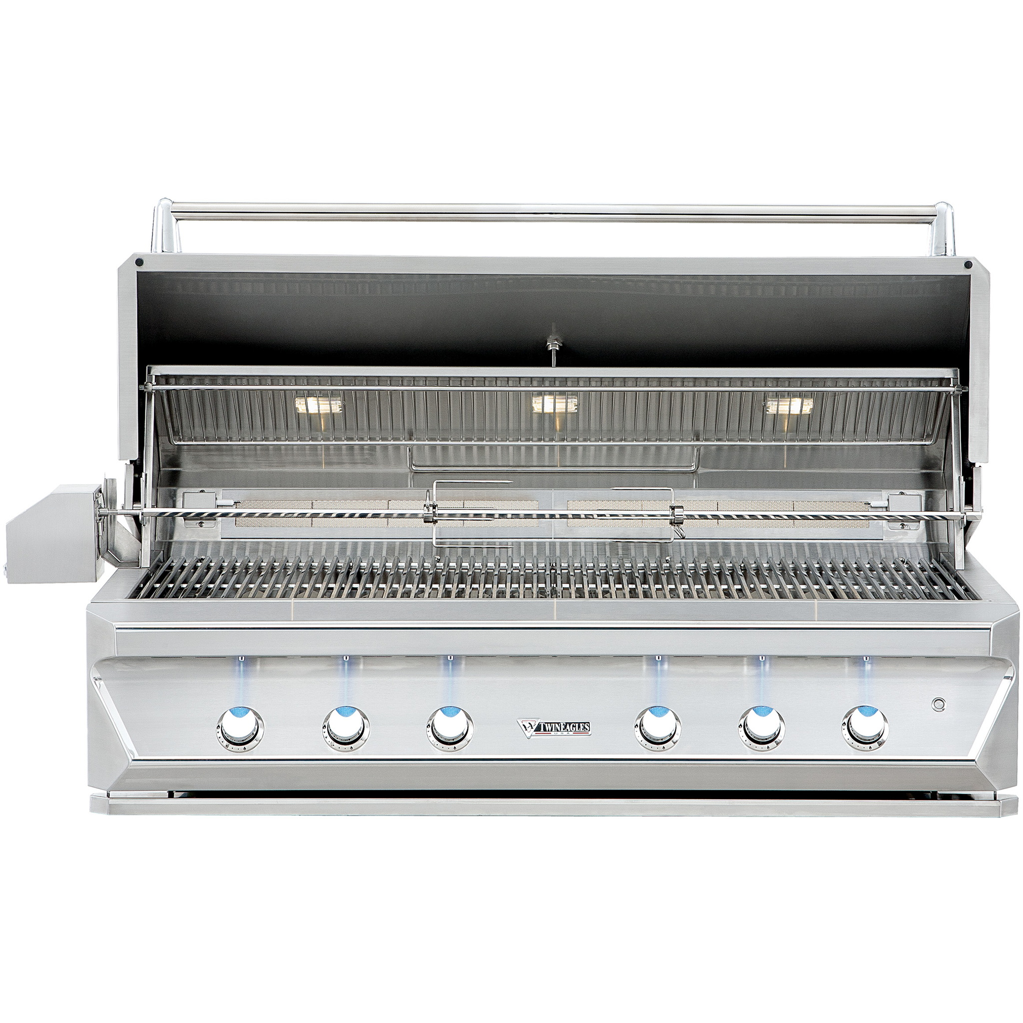 "54"" Twin Eagles Built-In Gas Grill w/ Infrared Rotisserie & Sear Zone, Natural Gas"