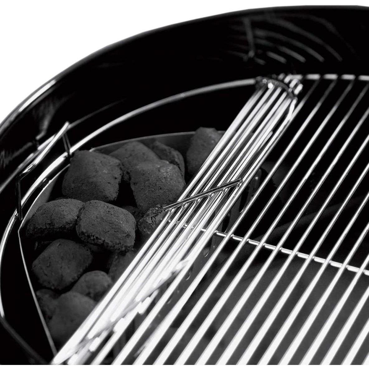 Weber Original Kettle Premium 22-Inch Charcoal Grill, Black