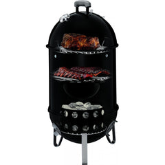 Weber Smokey Mountain Cooker Charcoal Smoker, 14-Inch