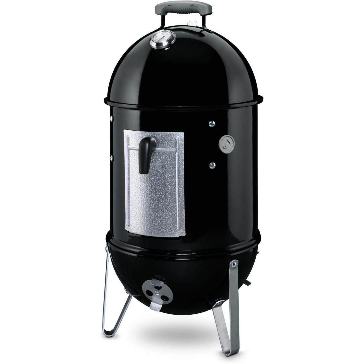 Weber Smokey Mountain Cooker Charcoal Smoker, 18-Inch