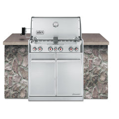 Weber Summit S-460 Built-In Gas Grill, Natural Gas