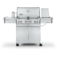 Weber Summit S-470 Freestanding Gas Grill, Liquid Propane