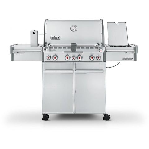 Weber Summit S-470 Freestanding Gas Grill, Natural Gas