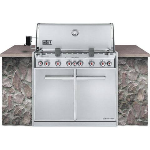 Weber Summit S-660 Built-In Gas Grill, Natural Gas