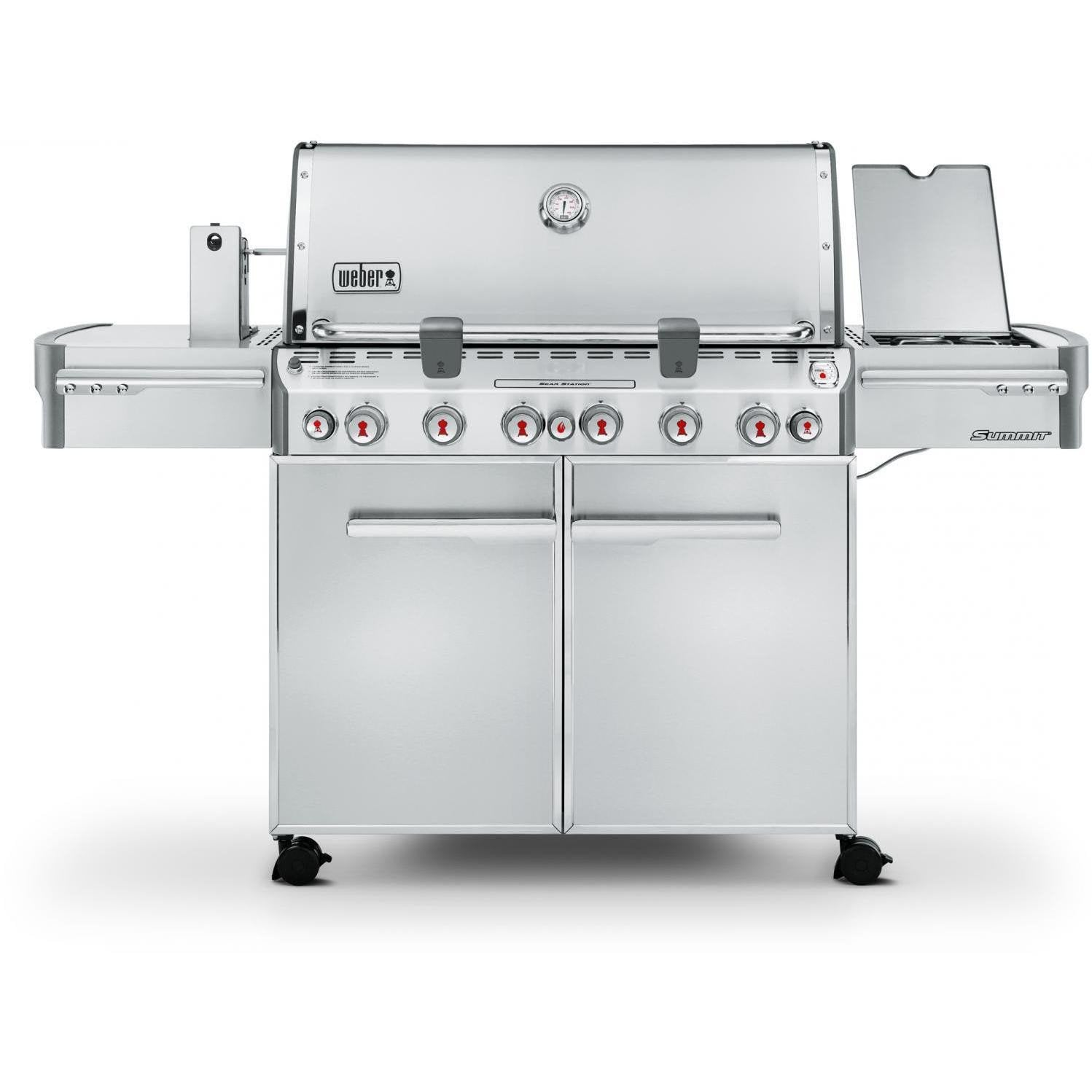 Weber Summit S-670 Freestanding Gas Grill, Natural Gas