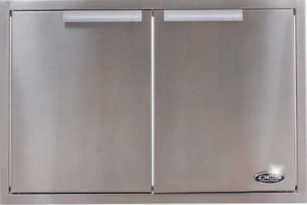 DCS 30-Inch Built-In Stainless Steel Access Doors