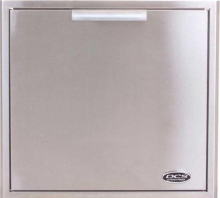 DCS 24-Inch Built In Stainless Steel Triple Access Drawer w/ Propane Tank Storage Combo