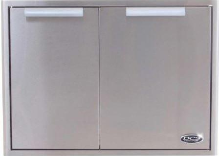 DCS 30-Inch Built In Stainless Steel Triple Access Drawer w/ Propane Tank Storage Combo