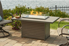 Brooks Rectangular Gas Fire Pit