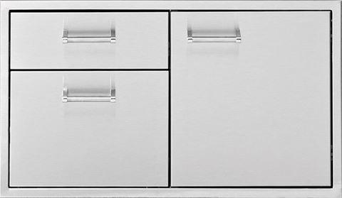 Delta Heat 36 Inch Door 2-Drawer Combo