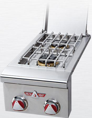Delta Heat Double Side Burner, Natural Gas