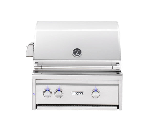 "Lynx 27"" Built-In Gas Grill w/ Rotisserie, Liquid Propane"