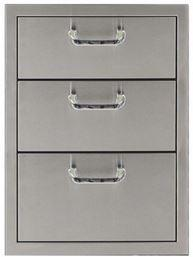 "PCM 260 Series 16"" Three Drawer Storage"