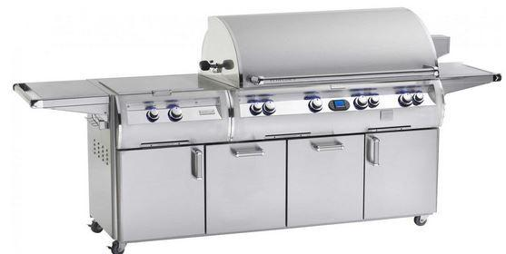 Fire Magic Echelon Diamond E1060s Analog Style Natural Gas Grill With Power Burner On Cart