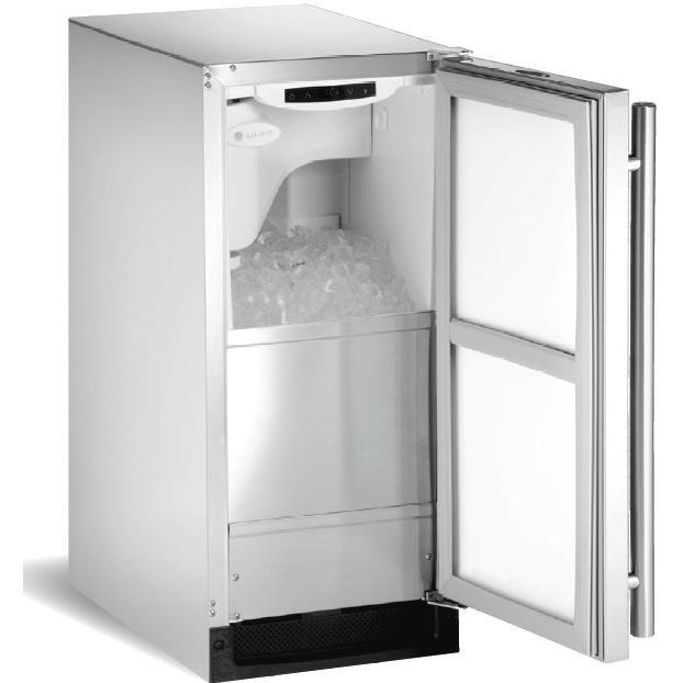 U-Line Outdoor Ice Machine With Pump - Stainless Steel