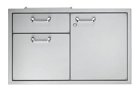 "Lynx 30"" Storage Door and Double Drawer Combination"