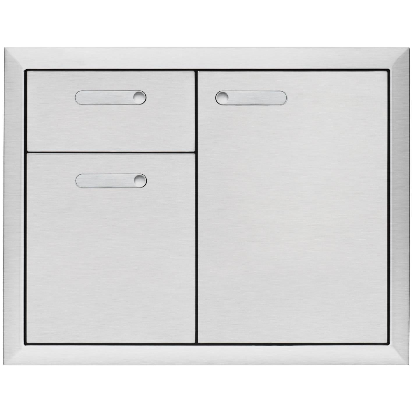 "Lynx 36"" Storage Door and Double Drawer Combination"