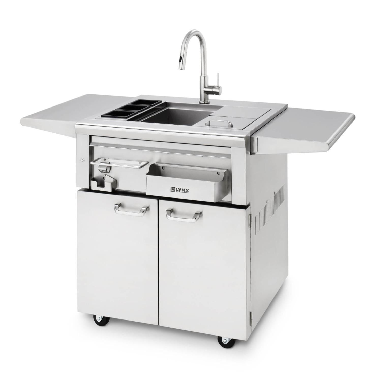 Lynx 30 Inch Cocktail Station On Cart