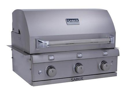 Saber 500 NG Stainless Built In Grill