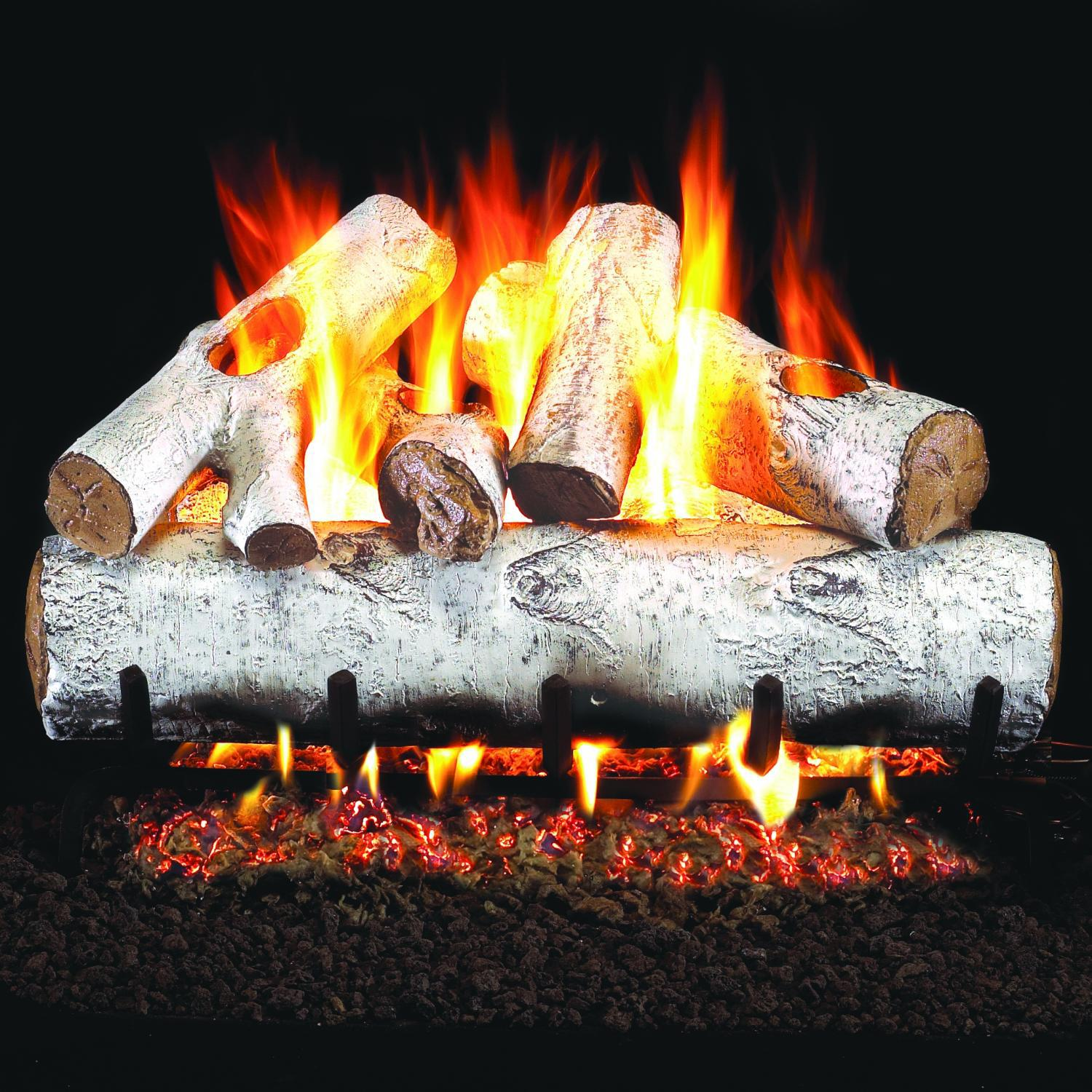 Real Fryre White Birch Gas logs
