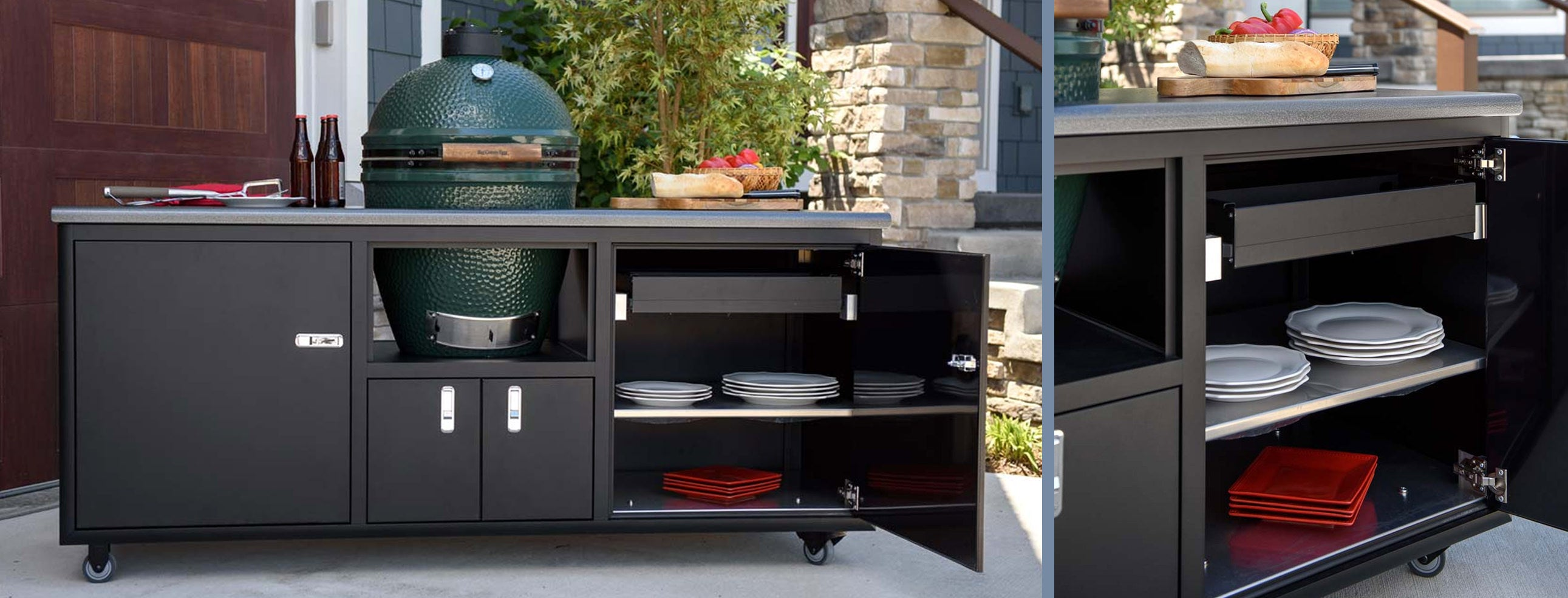 Challenger Designs Torch Grill Cart at BBQ Outfitters