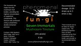 Seven Immortals Tincture