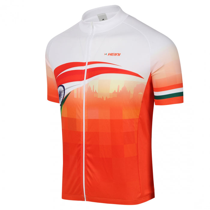 Heini India Cycling Jersey, Mens, Customisable, SS Nizza 606 - Cyclop.in