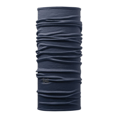 Solid Denim - BUFF® LW Merino Wool Tubular - Cyclop.in
