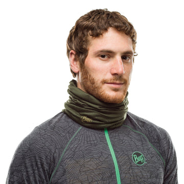 Solid Forest Night - BUFF® LW Merino Wool Tubular - Cyclop.in