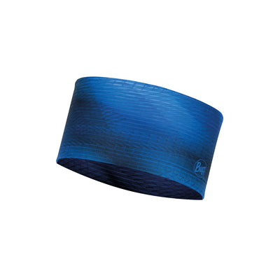 Spiral Blue - BUFF® Coolnet UV+ Headband - Cyclop.in